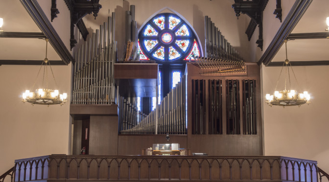 Syracuse Park Central Organ 2015