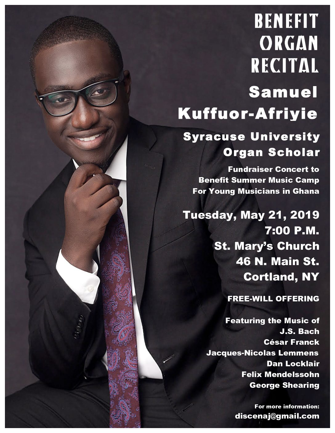 Events 2019 | Syracuse Chapter – American Guild of Organists